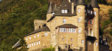 Castles on Rhine -  Katz Castle
