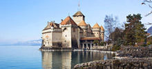 Lake Geneva -  Chillon Castle