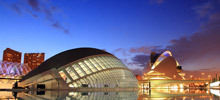 Tourist Attractions and Sightseeing -  City of Arts and Sciences in Valencia