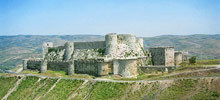 Medieval Fortifications -  Crac de Chevaliers