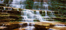 Most beautiful waterfalls,  -  Albion Falls