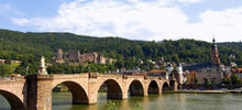 Most beautiful rivers,  -  Neckar River