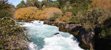Most beautiful waterfalls,  -  Huka Falls