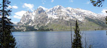 Lakes - World's most beatiful lakes -  Jenny Lake