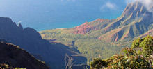 Parks of the world , Page 4 -  Kalalau Valley - Hawai