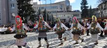 Razlog Kukeri Prepare for the Traditional Carnival