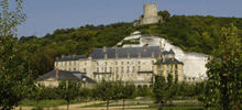 Castles in France -  La Roche Guyon Castle