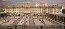 Castles in Spain -  Royal Palace of Madrid