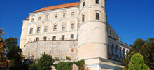 Castles in Czech Republic -  Mikulov Castle
