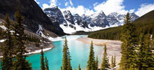 Rocky Mountains -  Moraine Lake
