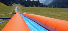 The Inflatable Water Slide in Bansko Now Open