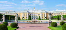 Palaces -  Peterhof Palace