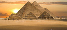 Egyptian Pyramids - Ancient Egyptian Pyramids