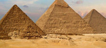 Pyramids -  The great pyramid of Giza