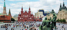 Moscow -  Kremlin and Red Square