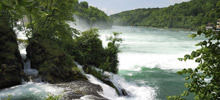 Most beautiful waterfalls,  -  Rhine Falls