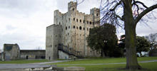 Medieval Fortifications -  Rochester Castle