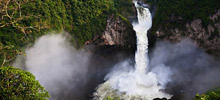 Most beautiful waterfalls,  -  San Rafael Falls