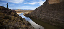 Big Bend National Park -  Santa Elena Canyon in Big Bend National Park