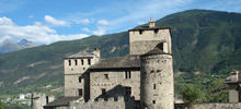 Medieval castles -  Sarriod Castle - Sarriod de la Tour