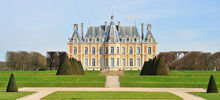 Castles in France -  Chateau de Sceaux - Sceaux Castle