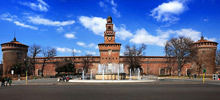 -  Sforzesco castle in Milan