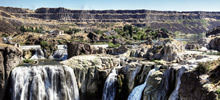 Waterfalls in the world, Beautiful waterfalls -  Shoshone Falls