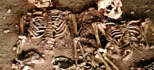 Giant Skeletons Found in Cave - Uncovered Remains of a Couple in Love from the Bronze Age