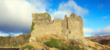 Castles in Scotland -  Tioram Castle