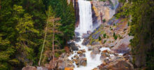 Most beautiful waterfalls,  -  Vernal Fall