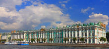 Neva River -  Winter Palace in Saint Petersburg