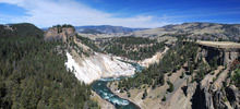 Most beautiful rivers,  -  Yellowstone River