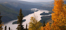Most beautiful rivers,  -  Yukon River