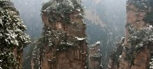 Most beautiful parks of the world -  Zhangjiajie National Forest Park