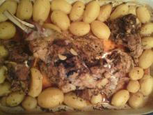 Lamb Clod with Potatoes