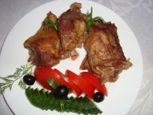 Roasted Lamb with Mint