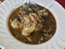 Cooked Lamb with Dock