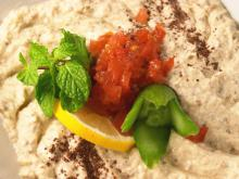 Eggplant and Almond Dip