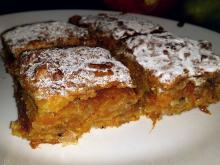 Phyllo Pastry with Pumpkin and Milk Topping