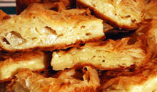 Pleated Phyllo Pastry with Cream