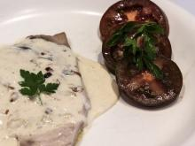Veal Fillet with Roquefort Sauce