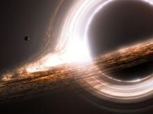 NASA Detects Strange Light Shooting Out from Black Hole