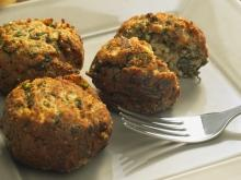 Dietetic Potato Balls with Greens