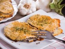 Super Tasty Crumbed Eggplant