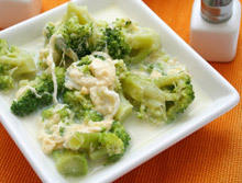 Broccoli in Cream Sauce