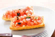Bruschetta with Fresh Tomatoes