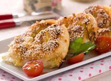 Simit with Sesame
