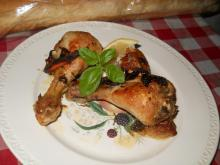Aromatic Chicken Legs with Beer and Garlic