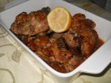 Chicken Legs with Parmesan and White Wine