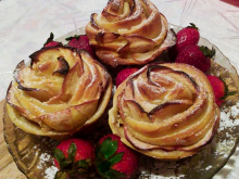 Puff Pastry Roses